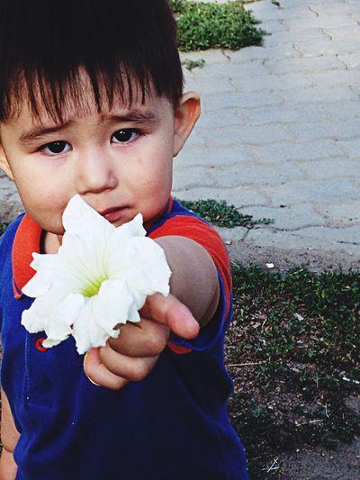 Botakan Flower Babyboy Mybaby❤