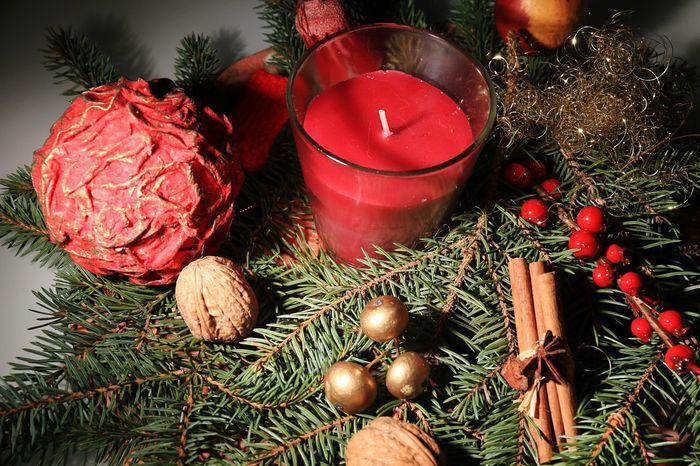 Christmas X-mas X-mas Decoration Floral Arrangement Arrangement Adventsgesteck Blumengesteck Gesteck Kerze Candle Bough