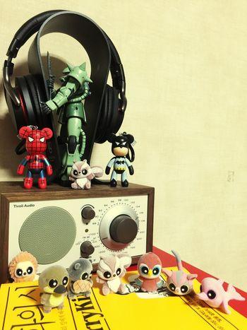 Figure Bearbrick Gundam Headphones Tivoli Zaku