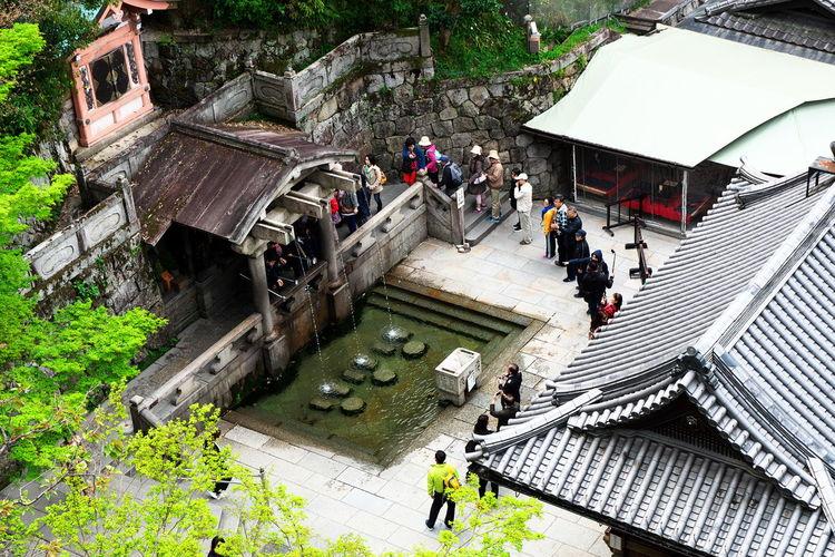 Architecture Built Structure City Life Day Green Color Japan Kioto Kyoto,japan Lifestyles Outdoors Tilt Tourism 京都