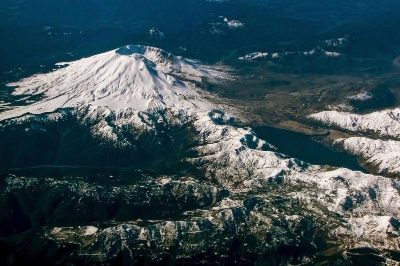 Aerial shot of