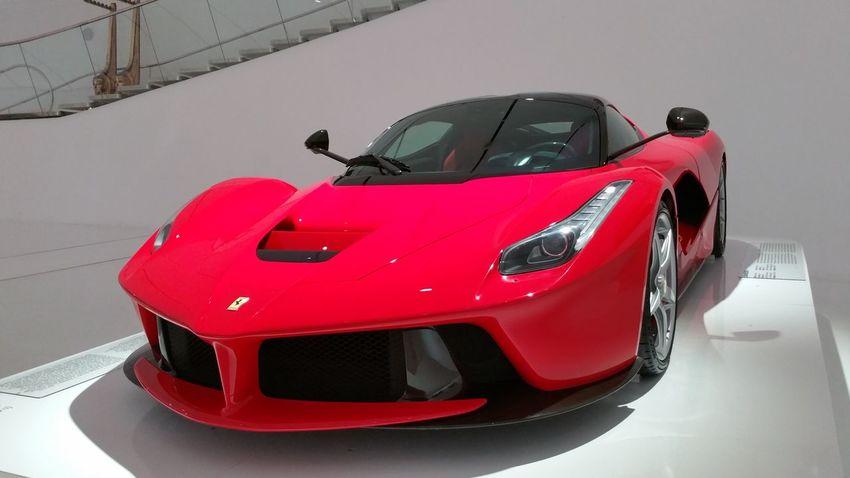 Cars Enzo Enzo Ferrai Ferrari Ferrari Enzo Museum 2015 Museum No People Red Ferrari