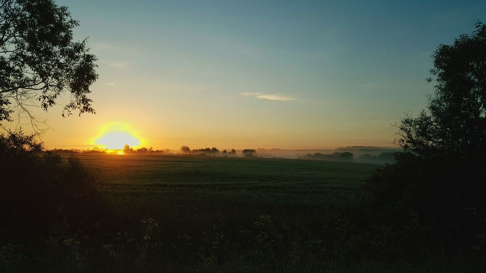 Sunrise in Latvia First Eyeem Photo