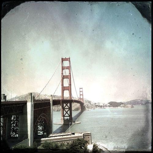Hipstamatic Golden Gate Bridge Hornbecker C-type Plate