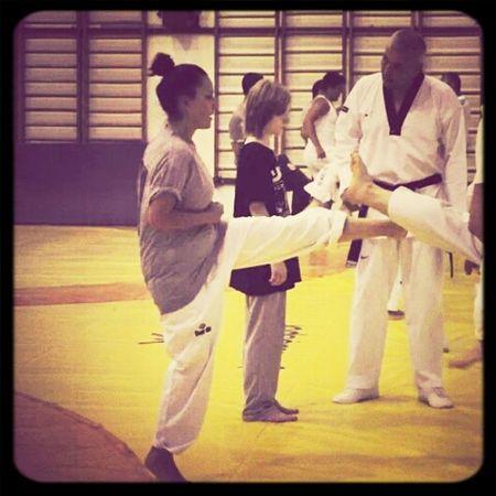 Taekwondo Doing Taekwondo Beforetaekwondo