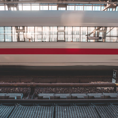 Architecture Arrival Blurred Motion Day Journey Mode Of Transportation Motion No People Outdoors Passenger Train Platform Public Transportation Rail Transportation Railroad Car Railroad Station Railroad Station Platform Railroad Track Station Subway Train Track Train Train - Vehicle Transportation Travel