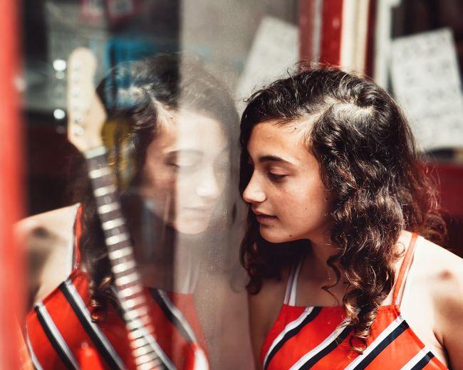 The Creative - 2018 EyeEm Awards Young Women Women City Beautiful Woman Portrait Females Beauty Headshot Togetherness Red