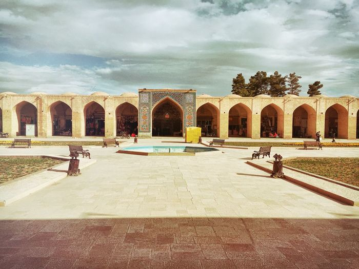 Iran Bazaar Bazzar Architecture Hystorical Sky Day Easter Sun Taking Photos Hello World Clouds And Sky Historical Sights Civilization Historical Building