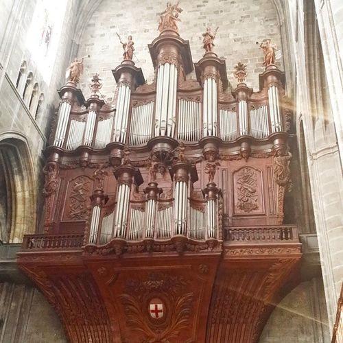 Grandes Orgues de la Cathedrale de Narbonne Centre Historique Aude LanguedocRoussillon