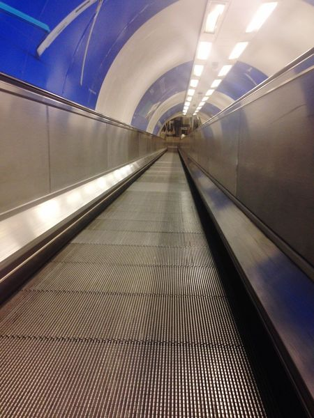 London Underground Escalator Waterloo Station