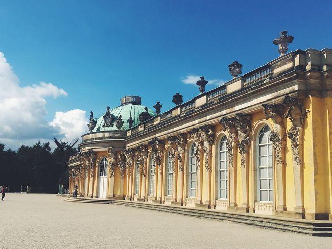 Schlöss Sanssouci 💕 Architecture UNESCO World Heritage Site Palace Berlin Sansoucci