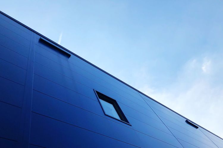 Ikea Wall IKEA Low Angle View No People Nature Architecture Building Exterior Cloud - Sky Day Blue Built Structure