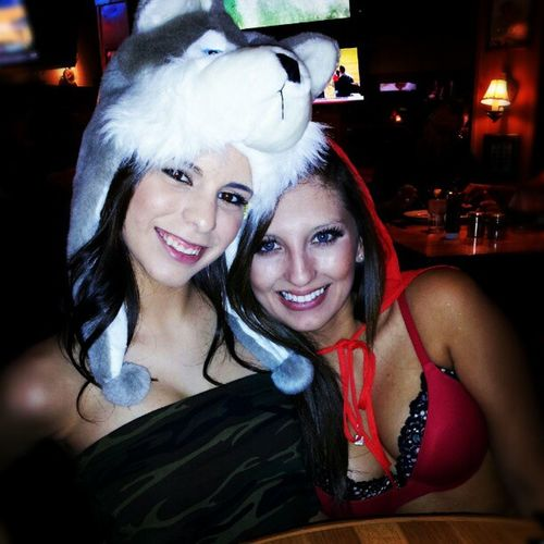 Wolf Lauren and @virsuo at Twinpeaks Plano Halloween Dressup