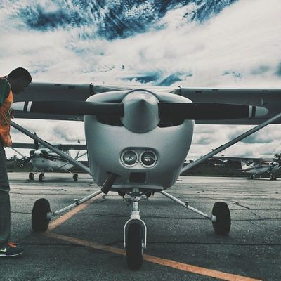 Instagood VSCO Vscocam Pilot privatepilot peru pucallpa selva qualitta cessna sky clouds lights propeller instadaily instalike travel