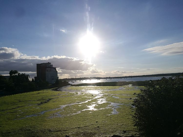 Water Sea Cloud - Sky Sunlight Outdoors Tranquility Nature No People Day Beauty In Nature Scenics Poole Harbour