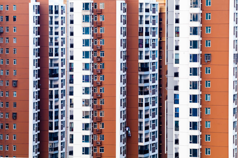 Apartment Architecture Backgrounds Building Building Exterior Built Structure City City Life Day Exterior Full Frame Modern No People Outdoors Repetition Residential Building Residential District Residential Structure The Architect - 2018 EyeEm Awards