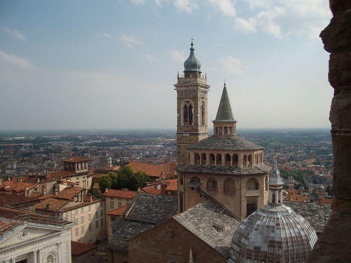 Basilica Of Santa Maria Maggiore Against Sky In City