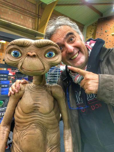 E.T E.T. Phone Home Self Portrait Selfie ✌ Selfies Funny Funny Moments Funny Pics