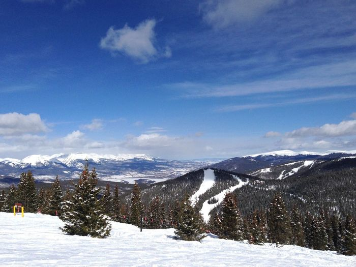 EyeEm Selects Snow Winter Cold Temperature Nature Scenics Beauty In Nature Mountain Sky Tranquility Cloud - Sky Tranquil Scene Weather Landscape White Color Outdoors No People Day Mountain Range Snowcapped Mountain Tree Colorado KeystoneSkiResort Keystone Been There.