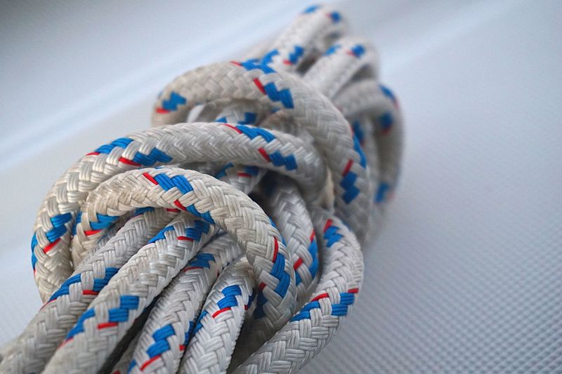 Rope Ropes Sail Sailing Sailboat Cord