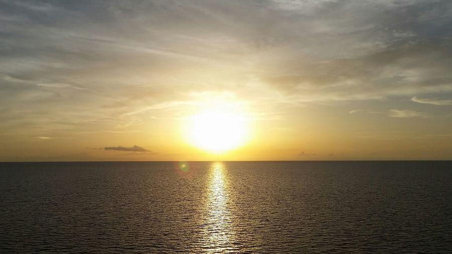 Sunset Stthomas Megansbaybeach