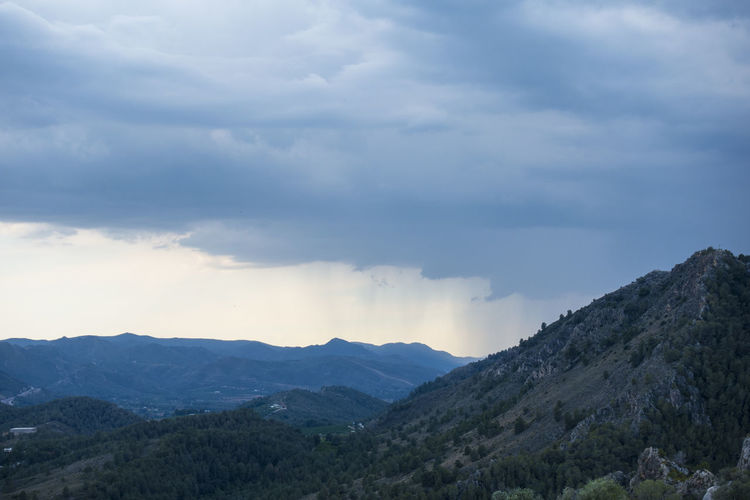 Montana Montana Sky Azul Beauty In Nature Cloud - Sky Day Environment Idyllic Landscape Mountain Mountain Peak Mountain Range Mountain Ridge Nature No People Non-urban Scene Outdoors Physical Geography Range Remote Scenics - Nature Sky Tranquil Scene Tranquility Xativa