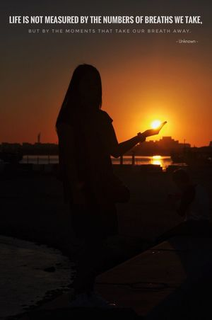 Sunset Silhouette Real People Sea Beach Nature Leisure Activity Outdoors Standing Women Scenics Lifestyles Water Full Length Beauty In Nature One Person Sky Sand Rear View