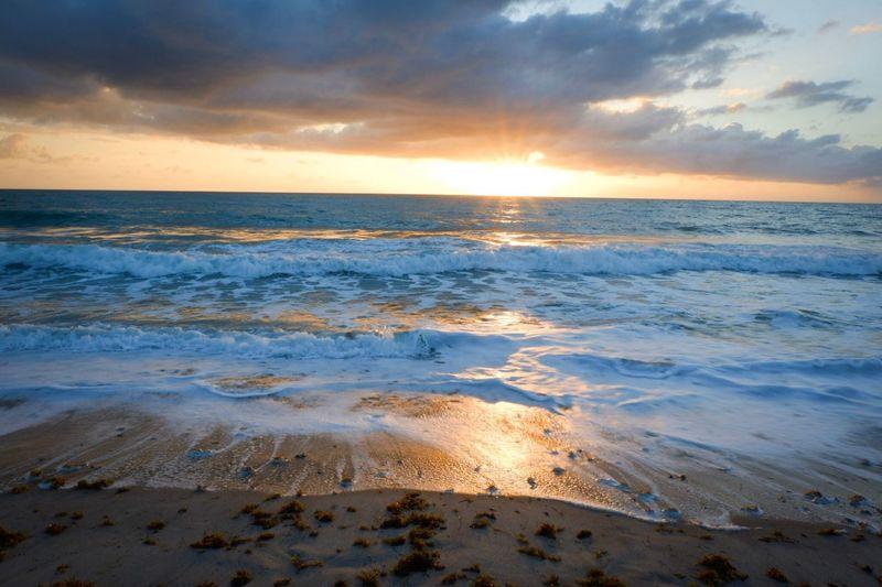 Florida sunrise Beach Water Travel
