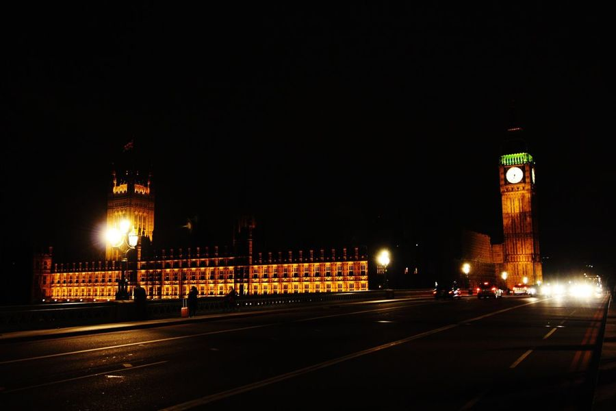 London Big Ben City Lights City