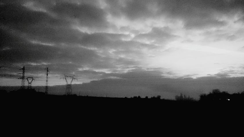 Taking Photos Le Matin Morning On The Road Blackandwhite