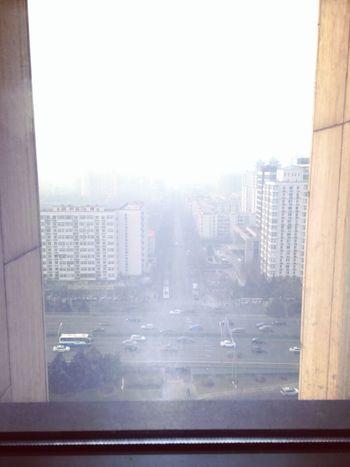 央音14层看雾霾的北京 First Eyeem Photo