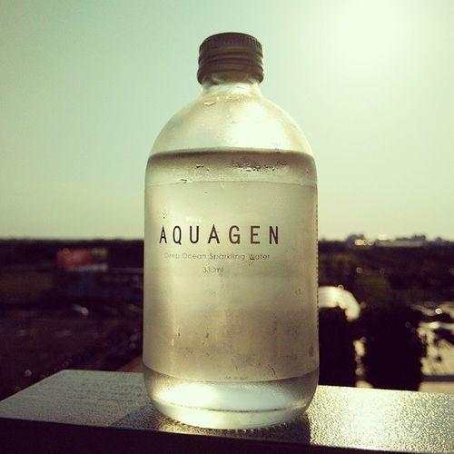 Aquagen 海洋深層氣泡水 AQUAGEN Sparkingwater Water Taiwan