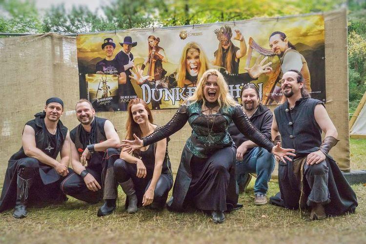 Dunkelschön , Release Konzert Album Abraxas , X. Festival Heikobo Selb Abraxas Dunkelschön Album Release Release Bayern Festival Musik Konzert Mediaval Festival Mediaval 2017