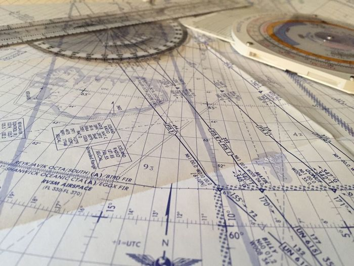 Airplane Charts Airplane Maps AirPlane ✈ Atlantic Passing Aviation Career Day Blue Routes Commercial Airlines North Atlantic Route