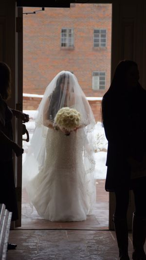 Wedding Bride Wedding Walk Winter Snow Chappel Church The Portraitist - 2016 EyeEm Awards