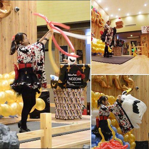 昨日は、郡山湯処まねきの湯 様でパフォーマンス でした!! ・ ・福島県 郡山市 バルーン バルーンアート バルーンパフォーマンス 風船 Balloonart Balloon Balloonperformance お正月 鏡餅 ドラゴン 龍 Dragon 鶴 ヘリウム 和装 和 JapaneseStyle JP 2016 着物ドレス 私の世界 myworld 温泉 まねきの湯 art lovers_nippon_artistic