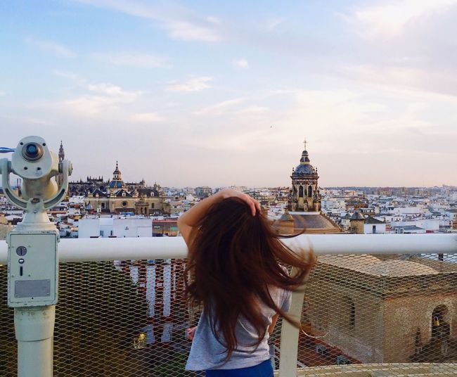 Snapshots Of Life Amazing_captures Outdoors IPhoneography Sevilla Travel Destinations EyeEm Best Shots Capture The Moment Daughter Love LasSetas View From Above Andalucia Spain Beautiful Amazing View City View