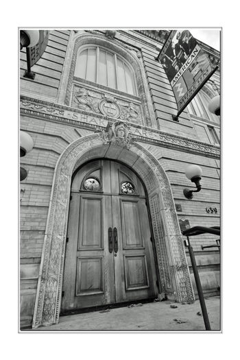 Charles A. Green Building 2 Oakland, Ca. African American Museum & Library At Oakland Dedicated To Preserving African American History Artifacts Diaries Photos Correspondence Books Bnw_friday_eyeemchallenge Bnw_doors Architecture Style: Beaux Arts Built 1900 Architecture_collection Architectural Detail Monochrome Photograhy Monochrome Door Black & White Photography Black & White Black And White Collection  Black And White Oakland Main Library 1902-51 National Register Of Historic Places 18001173