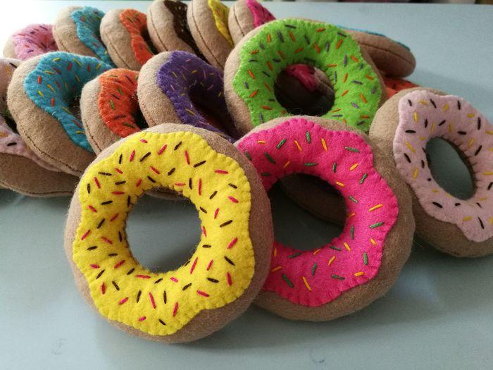 EyeEm Selects Donuts Felt Pretendplay Toy