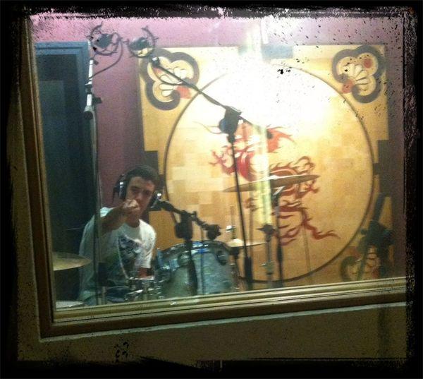 I Giardini Di Chernobyl Alternative Rock Recording Studio Dw Drums our Drummer Simo ?