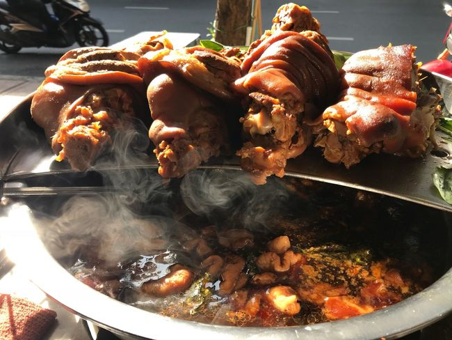 Street Food Food Food And Drink Heat - Temperature Smoke - Physical Structure Preparation  Meat Food Stories High Angle View No People Healthy Eating Freshness Ready-to-eat Indoors  Day Close-up