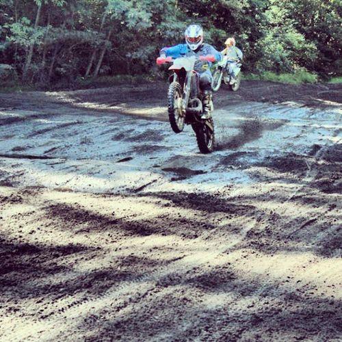 Honda Cr500 CR Motocrossporn wheelie