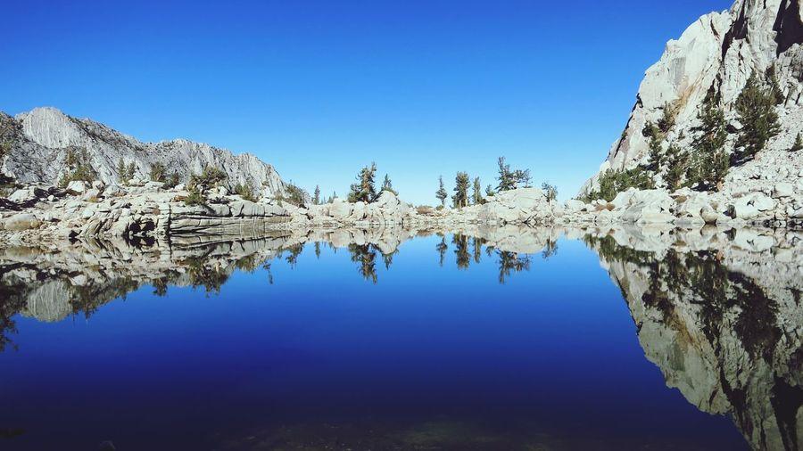 Symmetrical Lonepinelake Mtwhitney Reflection