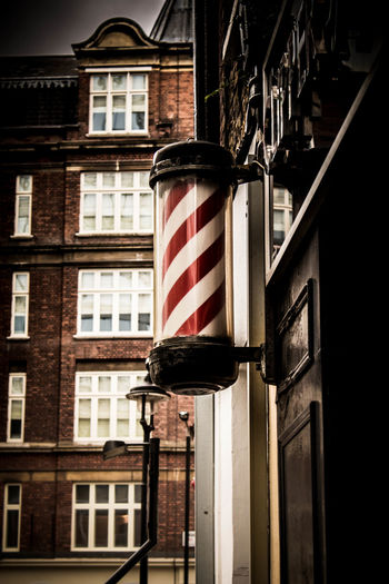 The red stands for blood- the white for bandages and the brass ends, the cups it was caught in - yes Barbers (or barber surgeons as they were originally called) Eye4photography  SignSignEverywhereASign EyeEm Best Edits Tonal Contrast