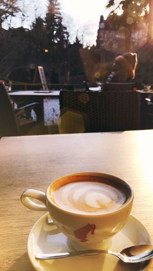 Coffee Cup Food And Drink Table Cafe Close-up Check This Out Sunlight EyeEm Gallery IPhoneography