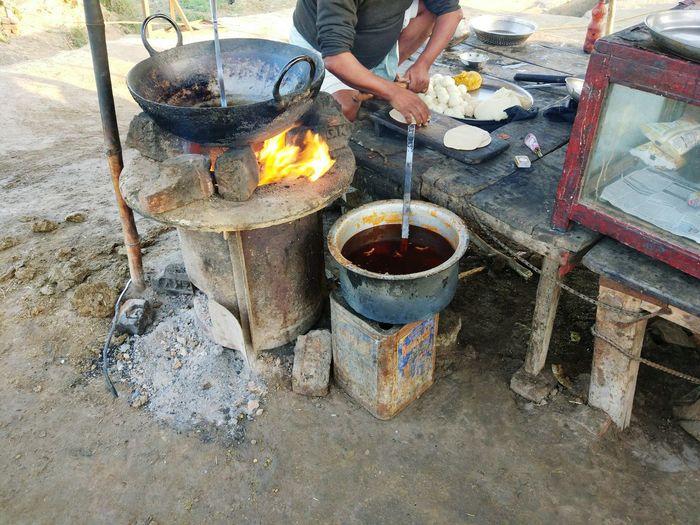 Roadside Eating Breakfast India Incredible India Road Journey Roadies Colors EyeEm Selects