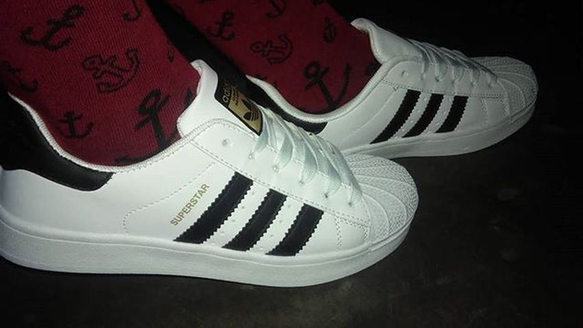 I Got You Baby. 😍😍😍 👟👟👟 Thanks kuya @jhuanvicente Adidas Superstar