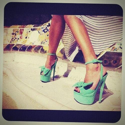 Heels Green Green Green!  Urbanstyle HighHeels Greenstyle Urban Fashion