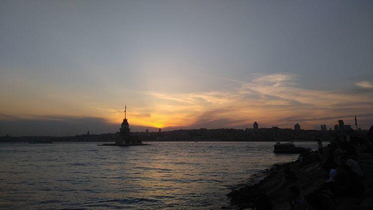 Kizkulesi Maidenstower Sunset
