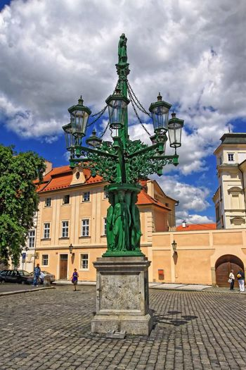 Old castle district, Prague, Czech Republic... History Old Enjoying The View Amazing Clouds And Sky Beautiful Green